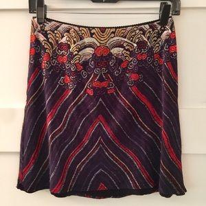 Vivienne Tam vintage mesh mini skirt